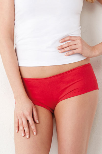Cotton Spandex Shortie Pantaloncino