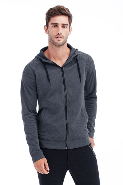 Active Performance Felpa Jacket Cappuccio